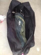 Full set of women's golf clubs plus golf bag and travel bag Mindarie Wanneroo Area Preview