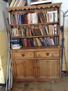Antique Welsh pine dresser  $950.00