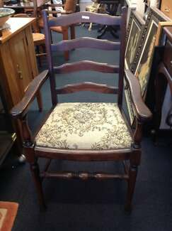 Dining chairs a lovely pair of oak carvers