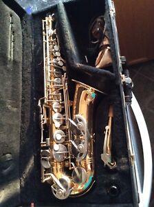 Alto sax used