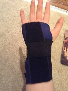 Trainers choice wrist brace