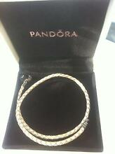 Pandora Braided Leather Bracelet (Double) North Rocks The Hills District Preview
