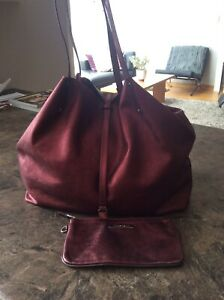 AUTHENTIC TIFFANY &  CO REVERSIBLE LEATHER TOTE BAG