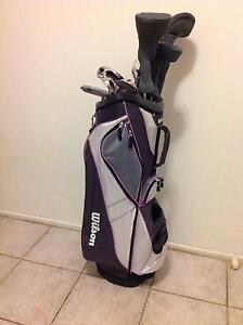 Near New Ladies Wilson R/H set Golf clubs and Bag $400 neg. Hoppers Crossing Wyndham Area Preview