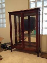 Timber and Glass Display Cabinet Beverley Park Kogarah Area Preview