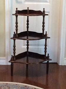 Three Tier Corner Shelf