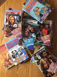 Nancy Drew and Super Hardy Boys Adventure Novels