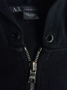 M | ARMANI EXCHANGE WOMEN'S ZIP-UP HOODIE