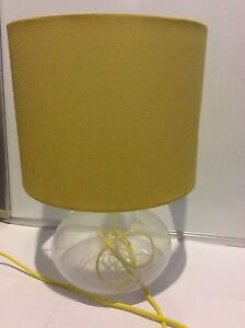 Yellow bedside lamp from freedom Tarneit Wyndham Area Preview
