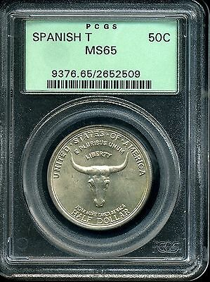 Click now to see the BUY IT NOW Price! 1935 50C SPANISH TRAIL COMMEMORATIVE HALF DOLLAR MS65 PCGS 2652509