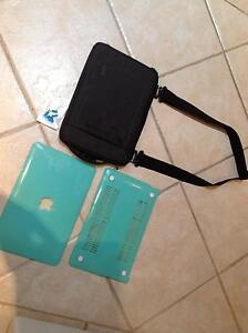 "MacBook Air 11"" bag and shell. Baldivis Rockingham Area Preview"