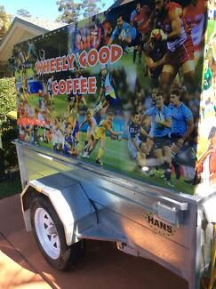 Coffee trailer for sale Boambee East Coffs Harbour City Preview