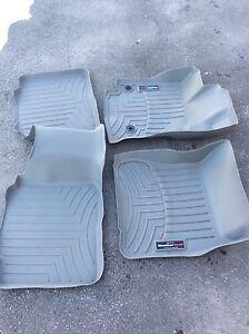 Weather tech winter mats