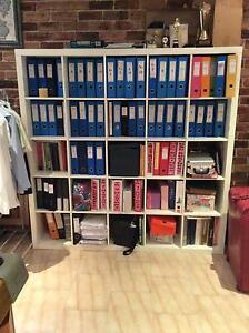 2 x bookshelves Edensor Park Fairfield Area Preview