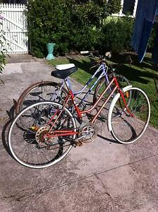 2 x vintage ladies bicycles bikes for restoration Repco Bennett Woonona Wollongong Area Preview