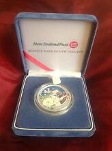 Pure silver 99.9% Aoraki/Mount Cook coin McMahons Point North Sydney Area Preview