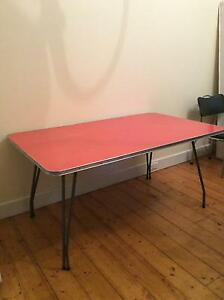 Gorgeous retro dining table and chairs Newport Hobsons Bay Area Preview