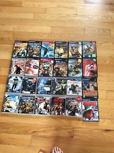 Ps2 and PS3 and one Xbox 360 games
