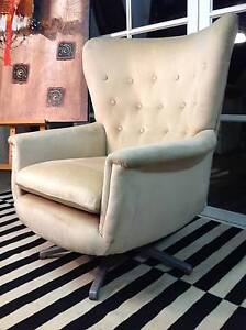 Beautiful Kafka-Featherston-Retro-Vintage Swivel Chair-Can Deliv Arncliffe Rockdale Area Preview
