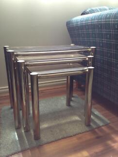 Retro Mid Century Side Coffee Table X 3