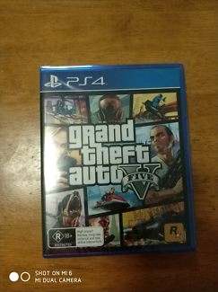 Ps4 game gtav brand new