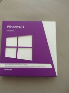 Windows 8.1 Full Version - Unused