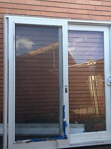 sliding door & window ( used) Aspendale Kingston Area Preview