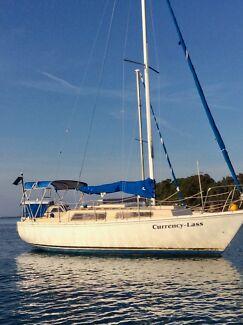 Adventure Yacht  24ft plus Dinghy