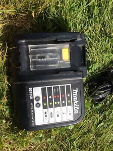 Makita lithium ion drill battery charger