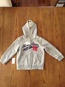 4T Children's Place Zip-Up Baseball Hoodie in St Thomas