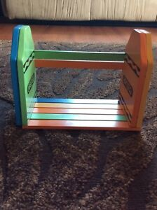 Kids Adjustable Crayon Book Shelf