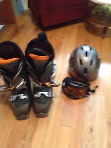 Men's Downhill Ski Package - very lightly used!
