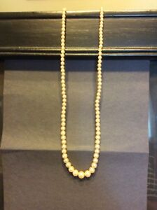 """17"""" necklace with a sterling clasp"""