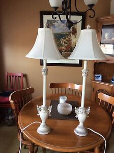 Price Reduced Buffet table lamps