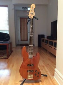 Fender jazz bass Okoumé