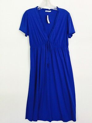 Mai Tai Blue dress, New w/Tags by VIVI Fashion, Size 1X Vivi Fashion