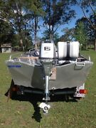 Open Dingy Runabout Aluminium  Swan Bay Richmond Valley Preview