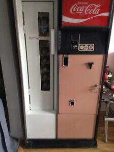 Machine distributrice Coca cola