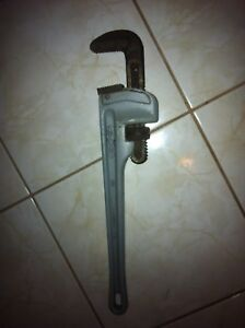 "18"" Aluminum Pipe Wrench-$65"