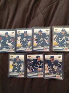 Hockey cards for trade. 5 Austin Mathews cards.