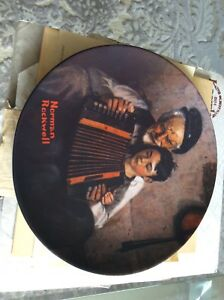 The Music Maker, Norman Rockwell, $20, P. U./ Lawrence,