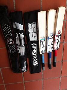 English Willow Cricket Bat - Knocked Harris Park Parramatta Area Preview