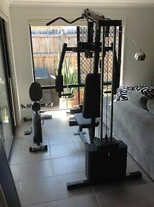 Selling Marcy 120lb Home Gym from Rebel Sport and exercise bike Brookwater Ipswich City Preview