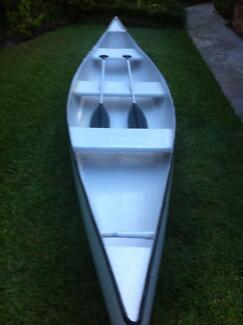 16ft Fibreglass 3 seat canoe Buderim Maroochydore Area Preview
