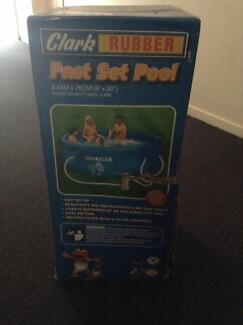 Inflatable Fast Set Pool Clark Rubber Kelvin Grove Brisbane North West Preview