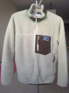 Patagonia retro-x fleece jacket kids sz XL