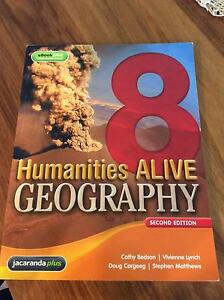 Humanities ALIVE GEOGRAPHY 8  second edition Jacana Hume Area Preview