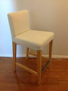 Bar chair with padded seat and backrest Oatley Hurstville Area Preview
