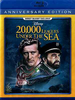 Walt Disney 20,000 LEAGUES UNDER THE SEA 1954 SEALED blu-ray MULTI-REGION!!!