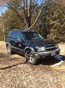 "2003 Chevy Tracker 4x4 ""As Is"""